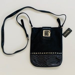 Guess Women Crossody Mini Shoulder Bag Black